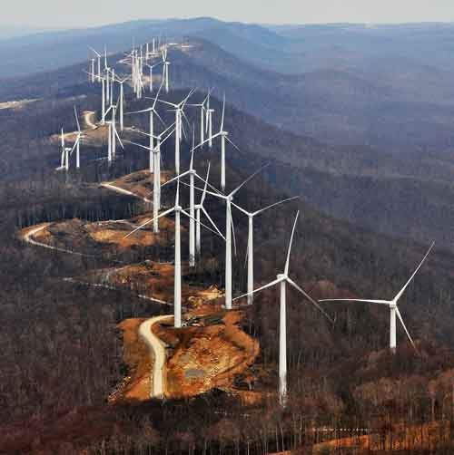 Laurel Mountain WV Wind Farm 1
